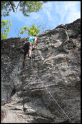 Rock Climbing Photo: at the anchor