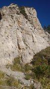 Rock Climbing Photo: Jericho on the way to the Imagination Wall.  Mixed...