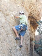 Rock Climbing Photo: Picking pockets at Port Royal.