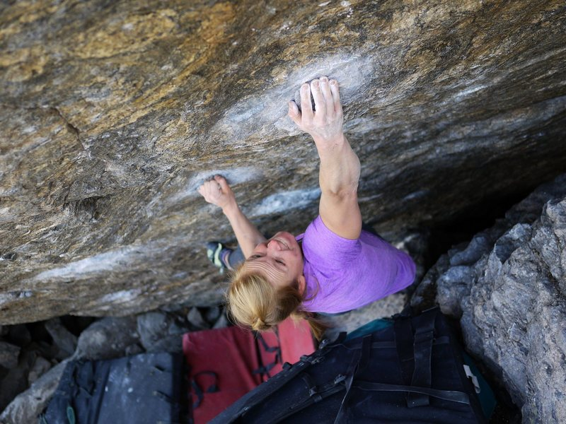 Erin in send mode on this nice problem.