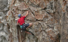 Rock Climbing Photo: Bryan Tikalsky on Colossus