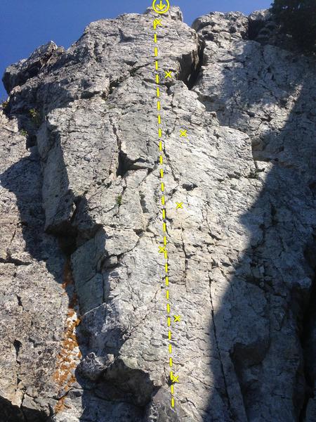 Rock Climbing Photo: Cassonade