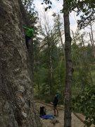 Rock Climbing Photo: fun little route...