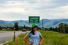 Rock Climbing Photo: Lander :-)