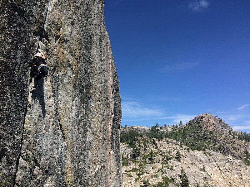Rock Climbing Photo: Snow Shed