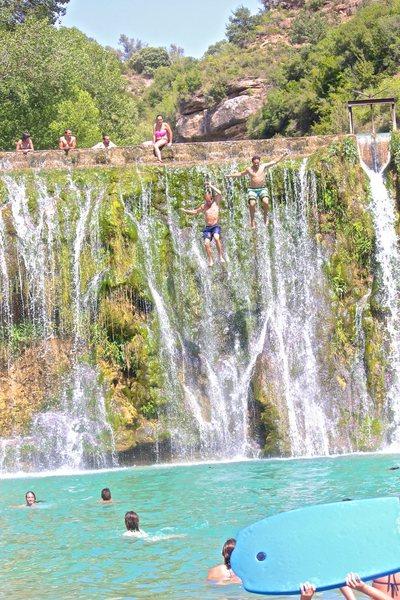 Bierge Waterfall Jump