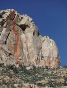 Rock Climbing Photo: Hopefully helpful to see the whole route for folks...