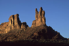 Rock Climbing Photo: The Putterman Towers, sunset Putterman on the Thro...