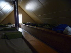Rock Climbing Photo: Sleeping accommodations upstairs.