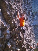 Rock Climbing Photo: The third ascent, in Tennies!