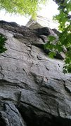 Rock Climbing Photo: Not a good photo, but this should help identify th...