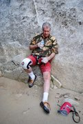 Rock Climbing Photo: This 'stuff' just gets harder and harder -...