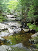 Rock Climbing Photo: Stream just above Pulpit Rock