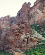 Rock Climbing Photo: The Crying Dinosaur is a great multipitch adventur...