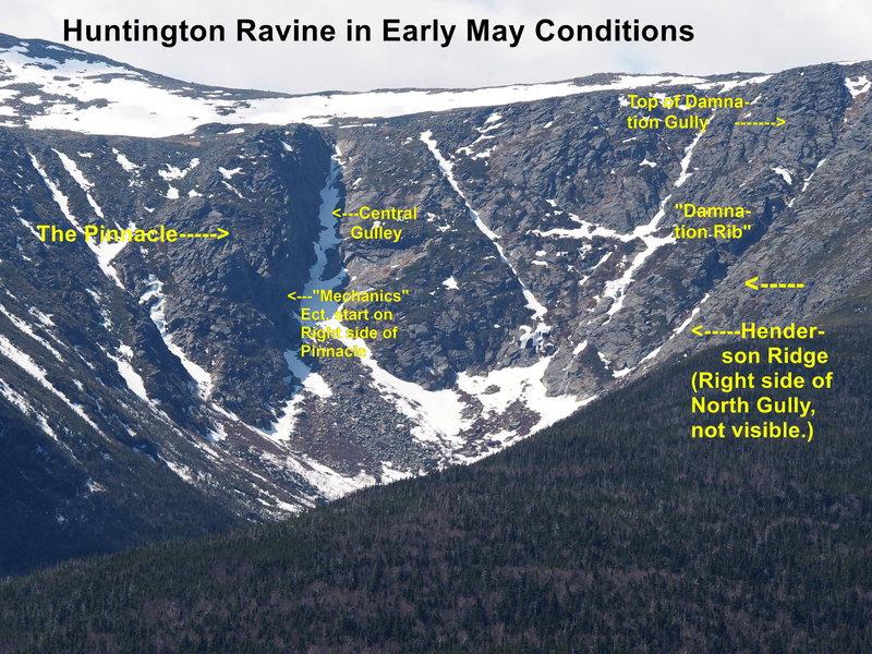 Rock Climbing Photo: Huntington Ravine