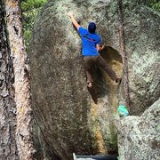 Rock Climbing Photo: Michael Madsen on Cavity
