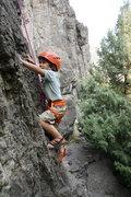 Rock Climbing Photo: Big C on Tiny Toons right