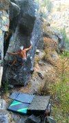 "Rock Climbing Photo: the amazing ""blitzkreig"" on Castle Rock...."