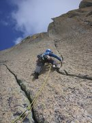Rock Climbing Photo: P3 6b fingerriss!