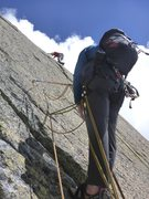 Rock Climbing Photo: One of the 6a+ slab traverses