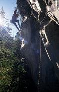 Rock Climbing Photo: the initial traverse!
