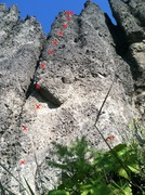 Rock Climbing Photo: Diamond in the Rough