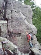 Rock Climbing Photo: Jockey Rocket is a few boulders behind this first ...