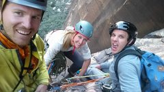 Rock Climbing Photo: Put your friend in a Bike helmet and take him on a...