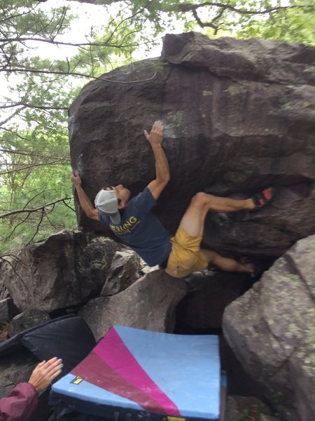 Rock Climbing Photo: Remo on Finding the Right Balance