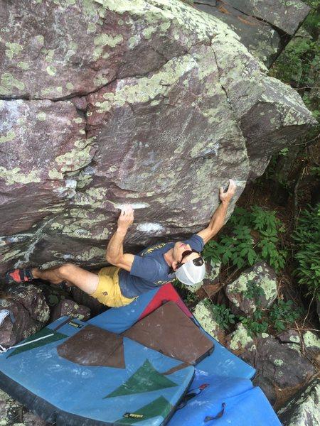Rock Climbing Photo: Remo