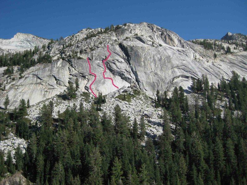 Rock Climbing Photo: Longer view.