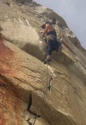 Rock Climbing Photo: Cardinal Pinnacle, V8 Crack