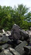 Rock Climbing Photo: Zach sending Thoroughbred