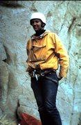 Rock Climbing Photo: I think this is Larry Dauelsberg