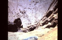 Rock Climbing Photo: On the Horn, looking down the West Face... Notice ...