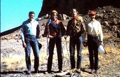 Rock Climbing Photo: Lee Davis, Chris O'brien, John Parker, Mike Mcgoey...