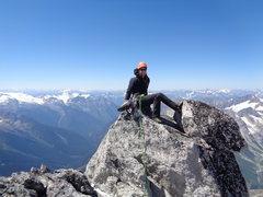 Rock Climbing Photo: S. Howser summit