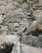 Rock Climbing Photo: Alexis on our 3rd pitch