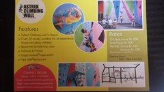 Rock Climbing Photo: Astrek brochure for climbing wall. 26/8/15