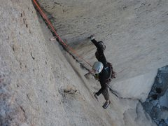 Rock Climbing Photo: First pitch of Tradewinds