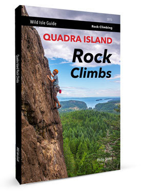 Rock Climbing Photo: Quadra Island Rock Climbs