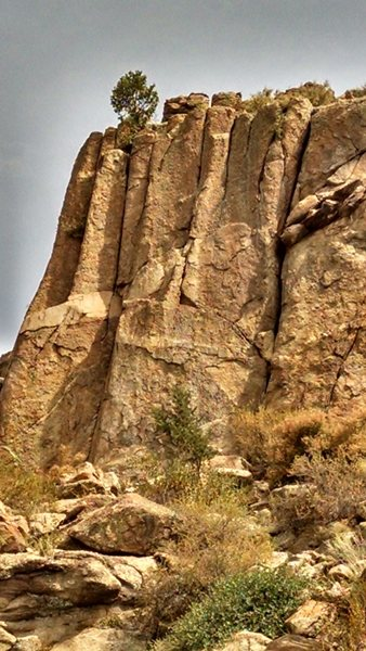 Upper South face.