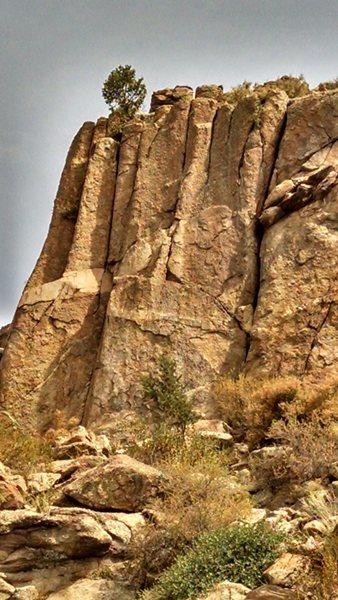 Rock Climbing Photo: Upper South face.