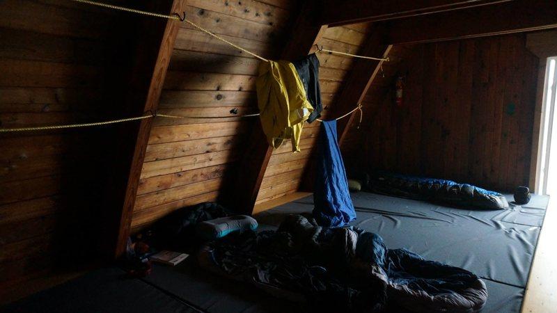 Rock Climbing Photo: Sleeping area in kain hut