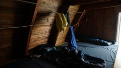 Rock Climbing Photo: Sleeping area in kain hut