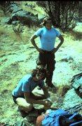 Rock Climbing Photo: Doug Roberts and Mark Losleben