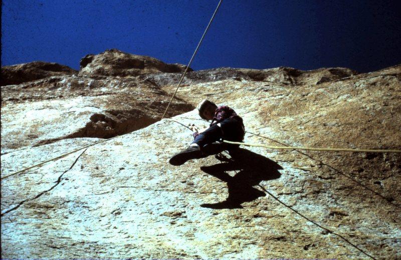 Rock Climbing Photo: Ed Ward