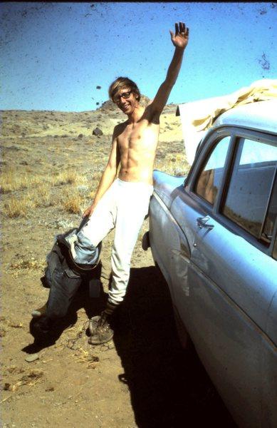 John Parker at Shiprock... note my '56 Ford!