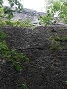 Rock Climbing Photo: Working left 3 of 6