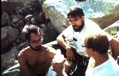 Rock Climbing Photo: Reed Cundiff, Larry Fisher, George Goedecke